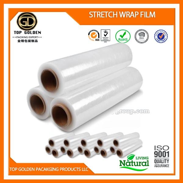 Manual stretch film